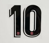 Lionel Messi Barcelona FCB Jersey Football Soccer Number Name Print SET Iron On