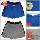 Ultra Men 100% Soft Stretch Cotton Jersey Knit Boxer Trunk Short Solid Underwear