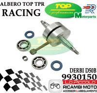 9930150 ALBERO MOTORE TOP TPR SPALLE PIENE MOTORE DERBI D50B CON CUSCINETTI