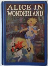 Alice in Wonderland and Through the Looking Glass 1923 Book Carroll and Tenniel
