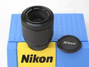 """Nikon AF-Nikkor 80mm f:2.8 lens with caps AIS, US SELLER, NICE """"LQQK"""""""
