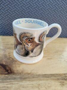 Emma Bridgewater Grey Squirrel Half Pint Mug 0.5