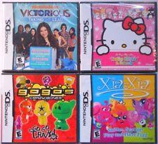 Nintendo DS Game Lot Bundle Hello Kitty Victorious Xia Gogo's Crazy Bones