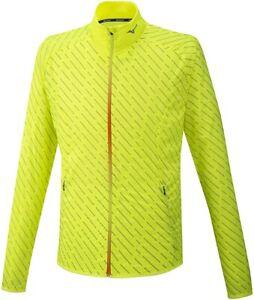 Mizuno Reflect Wind Mens Running Jacket - Yellow