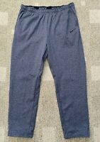 Nike Therma Men's Training Athletic Pants Sweatpants Gray Size 4XL 4X 932253-071