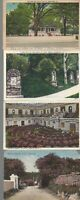 Vintage Scenic Postcards Circa 1800's-1900's Lot of 5 Architecture *