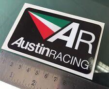 Decal Sticker Austin Racing (New Design) - 100mm x 60mm
