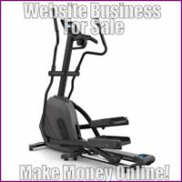 SKI MACHINES Website Earn £105 A SALE|FREE Domain|FREE Hosting|FREE Traffic