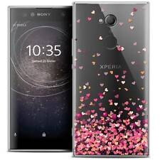 """Coque Crystal Gel Pour Sony Xperia XA2 ULTRA (6"""") Souple Sweetie Heart Flakes"""