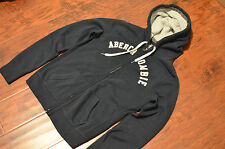 Medium Abercrombie & fitch Women's hoodie sweatshirt NAVY BLUE, great value, A&F