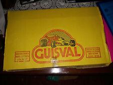 GUISVAL- CAJA CON 10 COCHES AÑOS 80