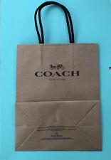 Coach  Paper Shopping Bags 7.75 x 9.75 NEW