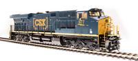 BROADWAY LIMITED 5863 HO ES44AC CSX 993 Boxcar Paint Paragon3 Sound/DC/DCC Smoke