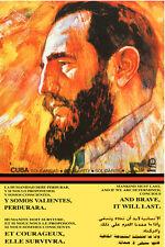 "20x30""Decoration CANVAS.Room political design art.Castro revolution.6529"