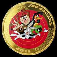 14-Karat Gold Coin - w/Pocket Watch – Looney Tunes - Bugs Bunny and Friends 2000