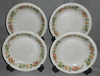 Set (4) Wedgwood QUINCE PATTERN Soup Bowls MADE IN ENGLAND