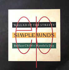 "SIMPLE MINDS BELFAST CHILD 1989 VIRGIN 7"" VINYL RECORD SINGLE FULLY PLAY TESTED"