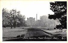 Mount Pleasant IA State Hospital RPPC Real Photo Postcard