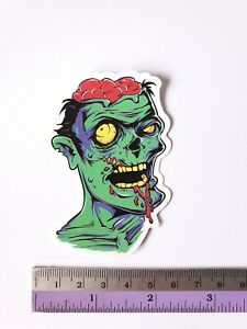 SANTA CRUZ Zombie Graffiti Sticker Bomb Cartoons Scary Skateboard Stickers