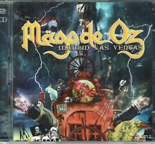 madrid las ventas MAGO DE OZ 2 CD SET (RARE LOCOMOTIVE SPAIN OOP)