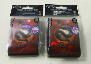 Max Protection 7060 YYD Neo Sleeves 2 Pack 100ct Card Sleeve Lot