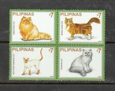 Philippine Stamps 2006 Cats of the World Block of 4 set MNH