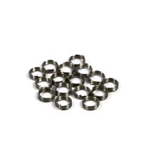 Thread washer Applicator mit Schaftringe Gummiringe Shaft Ring 6 Stück NEU