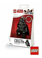 LEGO Darth Vader Star Wars Minifigure LEDLITE Key Light Keychain LED Keyring