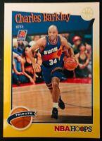 2019-20 Panini Hoops Charles Barkley YELLOW PARALLEL TRIBUTE Basketball Card 281