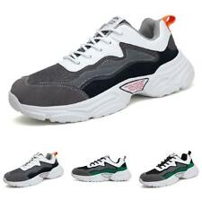Men Outdoor Running Sports Gym Fitness Jogging Non-slip Fashion Sneakers Shoes D