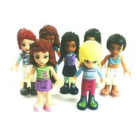 Lego Friends Girls Figure Bundle x 7 Various Styles