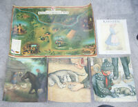 American Girl Collection KIRSTEN'S WORLD (Retired) 1854 Posters HangingWallDecor