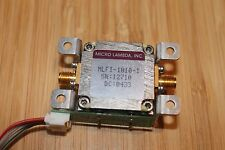 YIG Tunable Bandpass Filter Tektronix WCA380 YTF Micro Lambda MLFI-1010-1