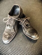 Vintage Handmade Oxford NDC Suede Leather Shoes Men 45/12