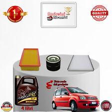 Kit Inspección Filtros + Aceite Fiat Panda II 1.1 8V 40KW 54CV de 2007 - >2013