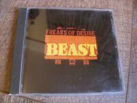 Freaks Of Desire – Beast Inside CD Single  NM