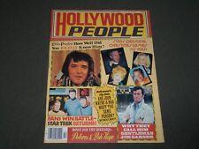 1977 HOLLYWOOD PEOPLE MAGAZINE - ELVIS PRESLEY - STAR TREK - CW 54