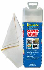 STAR BRITE 040046 Supersorb Smooth Fast Dry Chamois Synthetic PVA Wipes