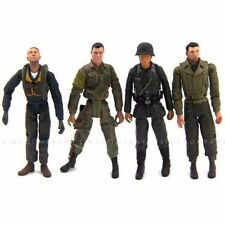 4 x 21st Century Toys 4 Ultimate 1:18 Soldier WWII German Usa 4'' Action Figure