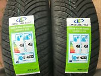 2 x NEW 195 65 15 LINGLONG TIRE TYRES 195/65R15 91H