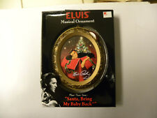 Elvis Musical Ornament Santa bring My Baby Back (NEW)
