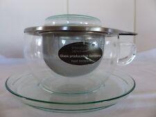 Teetasse Trendglas-Jena mit Edelstahlsieb 0,4 l