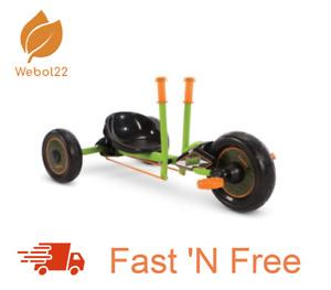 Huffy® Green Machine Mini Drift Trike Tricycle Ride On Steel Frame Free Shipping