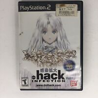 .hack Infection Dot Hack (PS2 PlayStation 2) Complete CIB NICE FAST! A8