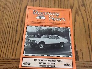 Raceway News Englishtown NJ Vol 2 #29 NHRA Drag Racing