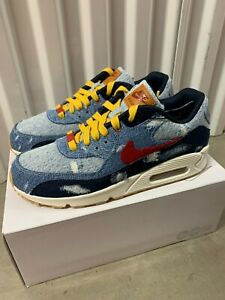 Nike LEVIS Air Max 90 ID By You Denim 9.5