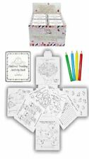 12 Wedding Favour Activity Pack.Childrens,Kids,party bag filler,box,puzzles,game