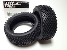HB blocco TIRE 67924 HOT BODIES World Champion LRP Morbido Rosa F. 1/8 Buggy Gomme
