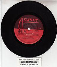 "BONEY M   Mary's Boy Child/Oh My Lord 7"" 45 vinyl record + juke box title strip"
