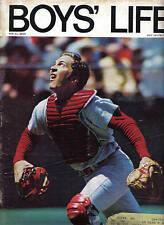 1971 (Jul.) Boys' Life,  baseball, magazine, Johnny Bench, Cincinnati Reds